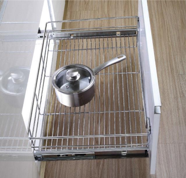 Wire Drawer Basket Modern Kitchen Decor